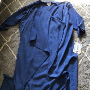 Blue Lularoe Shirley